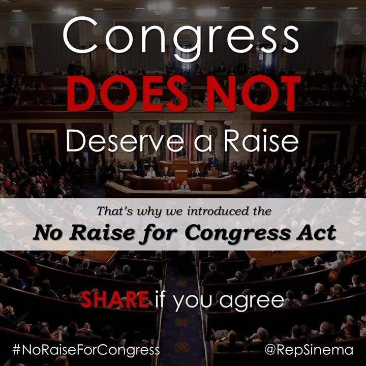 no raise for congress