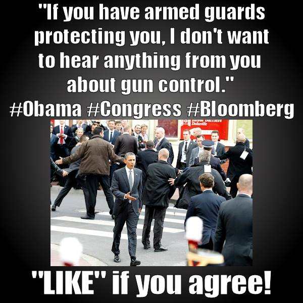 armed guards gun control